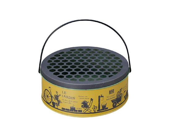 蚊遣り缶(イエロー)
