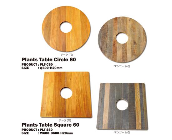 プランツテーブル(Plants table)