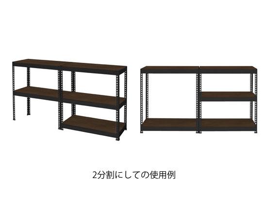 メタル&ウッドラックシリーズ シェルフ5段(幅810mm)