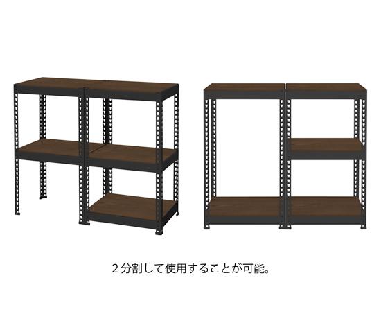 メタル&ウッドラックシリーズ シェルフ5段(幅510mm)