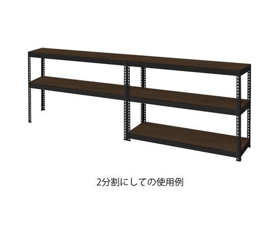 メタル&ウッドラックシリーズ シェルフ5段(幅1210mm)