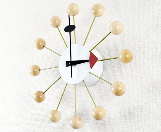 デザイナーズウォ−ルクロック-壁掛け時計-ボールクロック