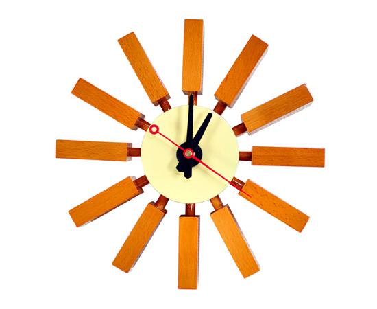 ブロッククロック -壁掛け時計-
