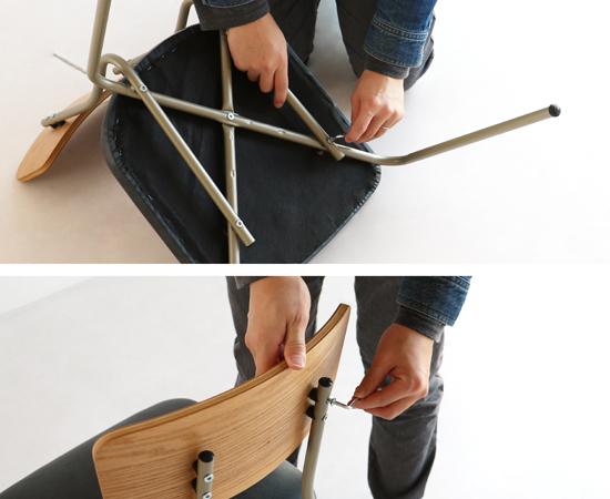 ドリップ カフェチェア(wood)
