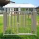 犬のサークル 4枚組パネルセット 【アルミ製 12-4AY 屋根付き】 高さ1200×W1200×D1250mm トールタイプ 屋外・室内 兼用