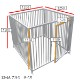 犬のサークル 単品パネル 【アルミ製 扉パネル 高さ1150 幅1200】 サークル高さ1200用 屋外・室内 兼用