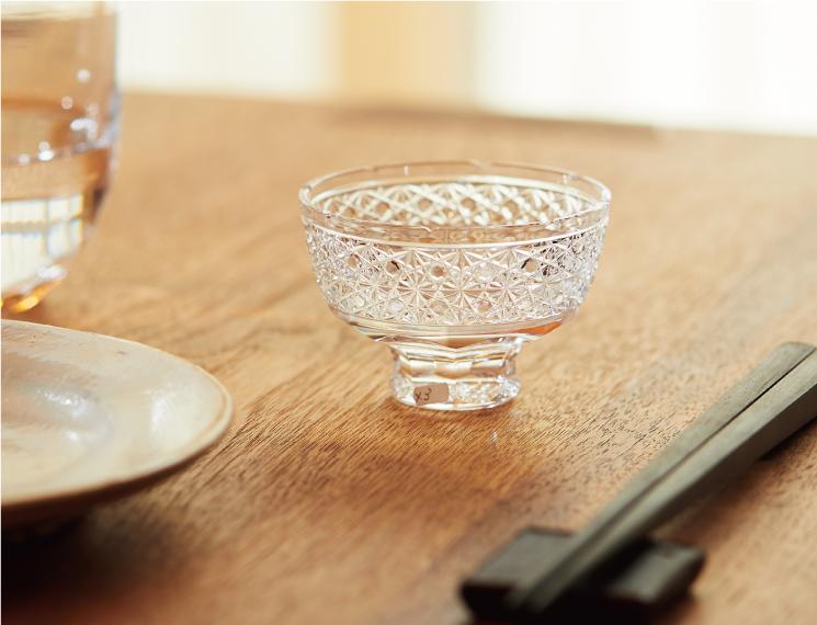 スキサカズキ菊籠目 酒杯