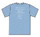 トゥエンティ・ゴー Tシャツ(ブルー)