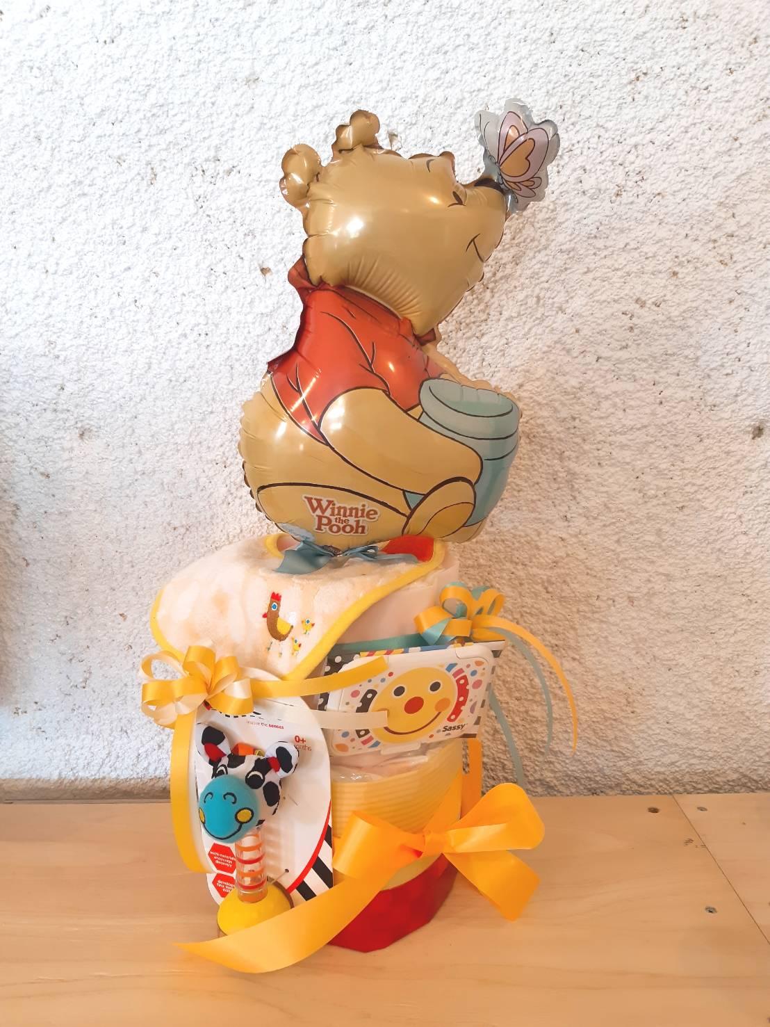 【DC-501】プーさんのおむつケーキ