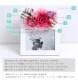 【photo-01】送料無料 プリザーブドフラワー 写真たて フォトフレーム 誕生日 プレゼント 花 女性 母 結婚祝い 還暦祝い 退職祝い 開店祝い