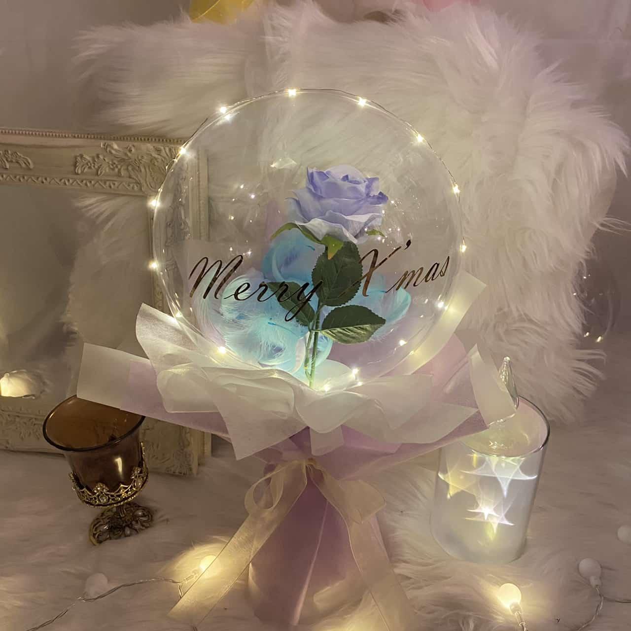 ※送料無料※【BL-506】LEDライト付きロマンティックバルーン