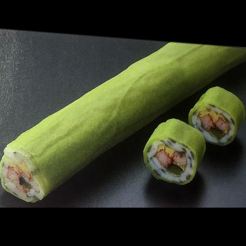 カニ風味若菜巻