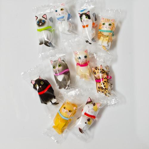 猫にゃんチョコレート・15個袋入り