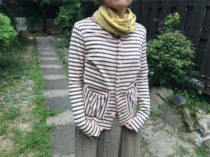 草木染めオーガニック吊り編みスヌード
