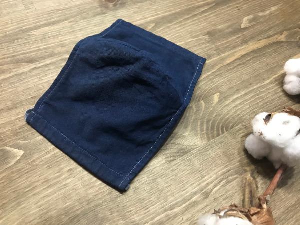 布製マスクを藍・柿渋で染め替え・染め直し