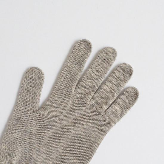 草木染め ヤクウール 手袋