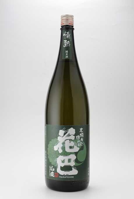 花巴 情熱 木桶仕込 木樽貯蔵 山廃純米酒 1800ml 美吉野醸造