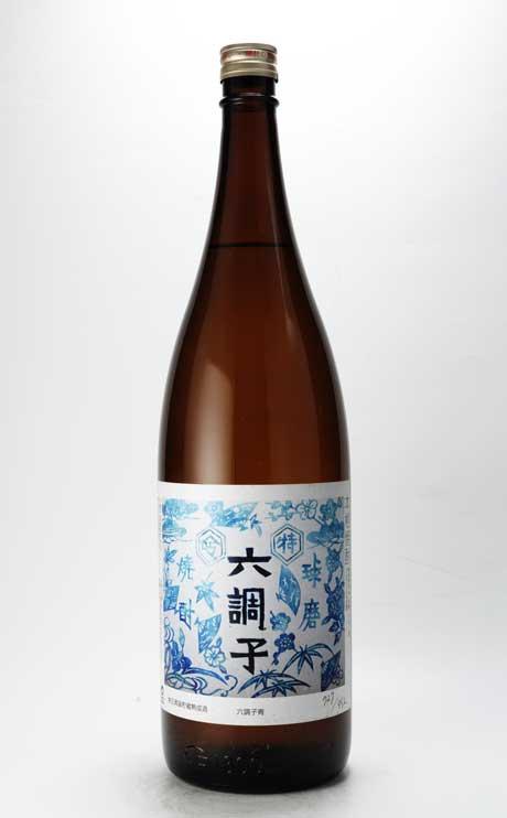特吟 六調子 米25% (青ラベル) 1800ml 六調子酒造