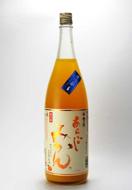 梅乃宿 あらごしみかん酒 1800ml 梅乃宿酒造