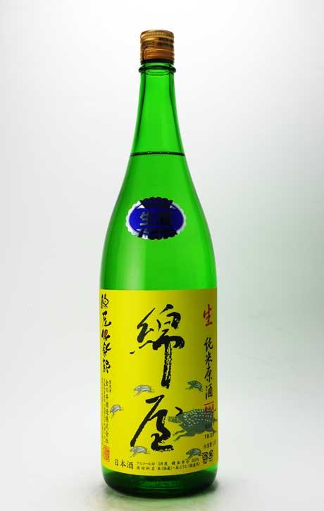 綿屋 綿屋倶楽部(コットンくらぶ)純米生原酒 R1BY 1800ml 金の井酒造