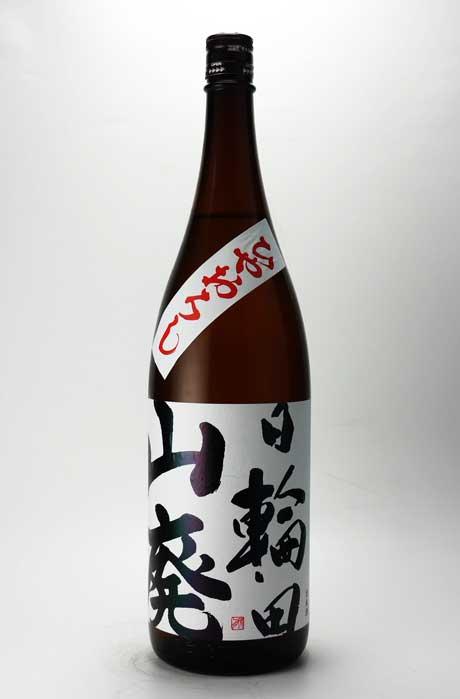 日輪田 ひやおろし 山廃純米酒 H30BY 1800ml 萩野酒造