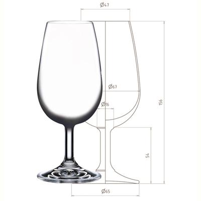 【国際規格】INAOテイスティンググラス 6脚セット