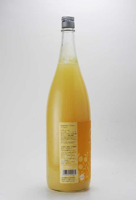 Qdamon (くだもん) 大分ゆず 5% 1800ml 若波酒造