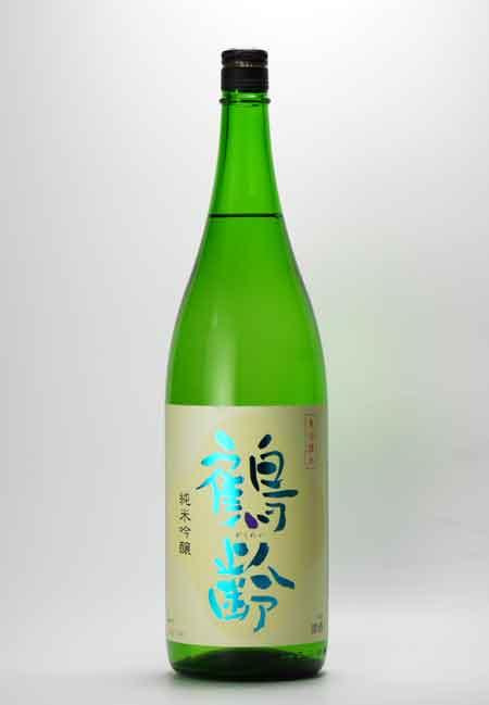 鶴齢 純米吟醸 1800ml 青木酒造
