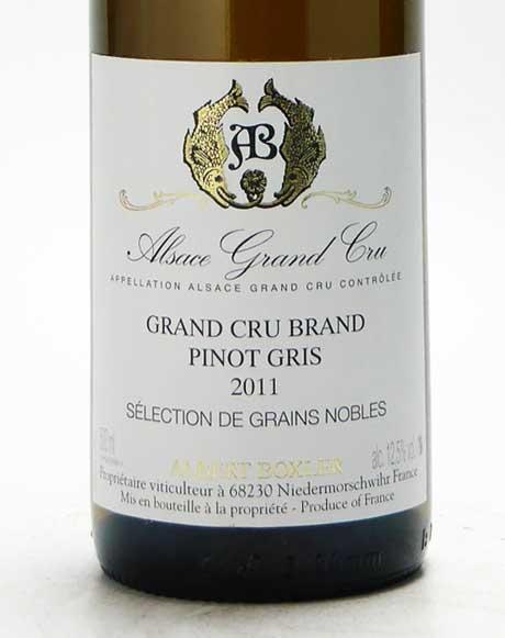 ピノグリ グランクリュ・ブラント・セレクション・ド・グラン・ノーブル 2011 (500ml)
