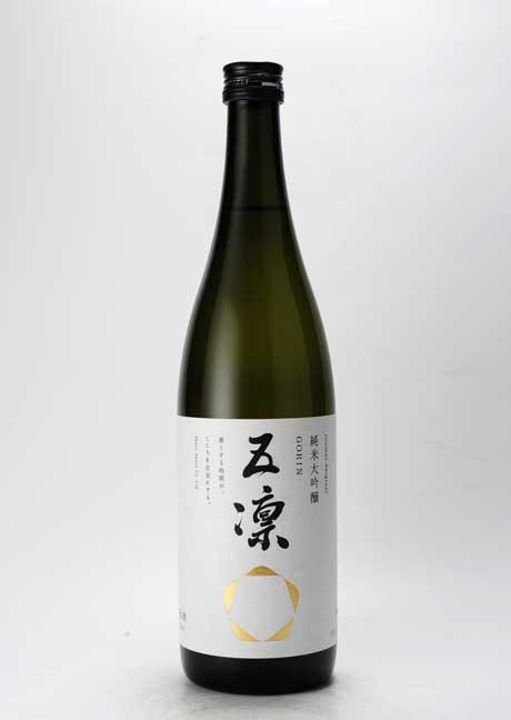五凛(ごりん) 純米大吟醸 720ml 車多酒造