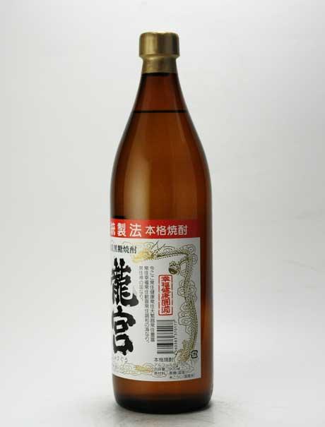 龍宮 黒糖焼酎 30度 900ml 富田酒造場