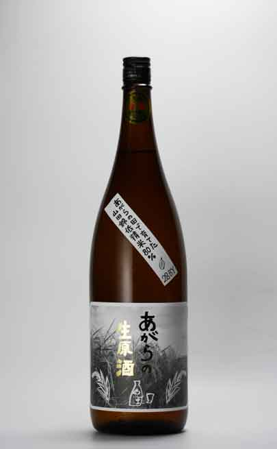 紀土 - KID 純米酒 あがらの生原酒  1800ml 平和酒造