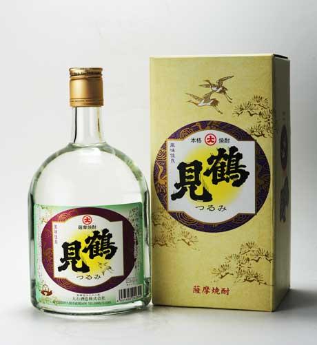 鶴見 芋焼酎 25°720ml 大石酒造