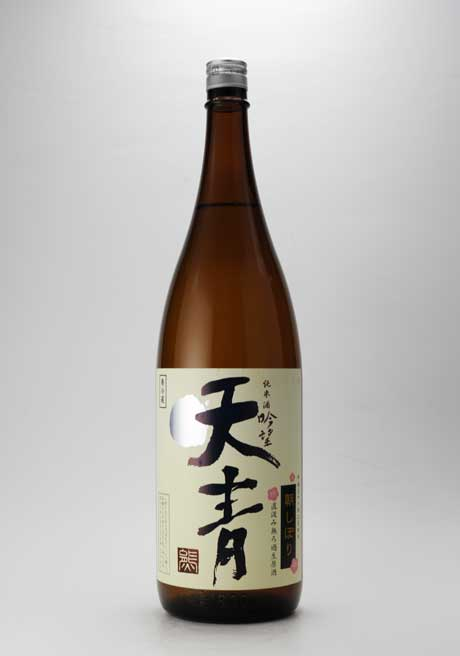 天青 吟望 朝しぼり 純米無濾過生原酒 1800ml 熊澤酒造