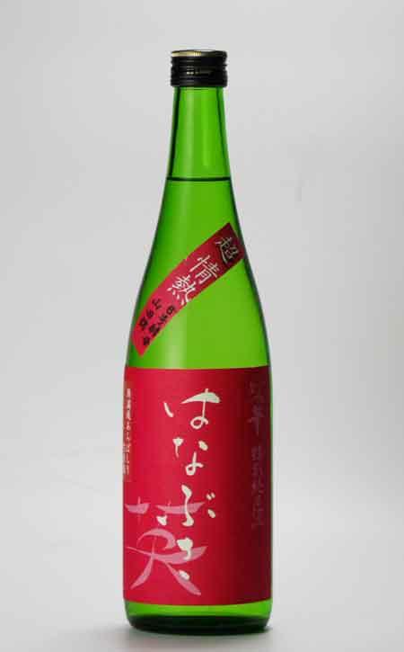 妙の華 英 超情熱 特別純米無ろ過生原酒 (無農薬山田錦) 720ml 森喜酒造場