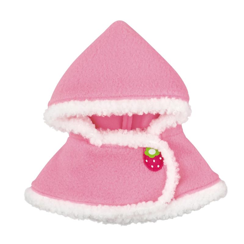 ピンクのいちごケープ