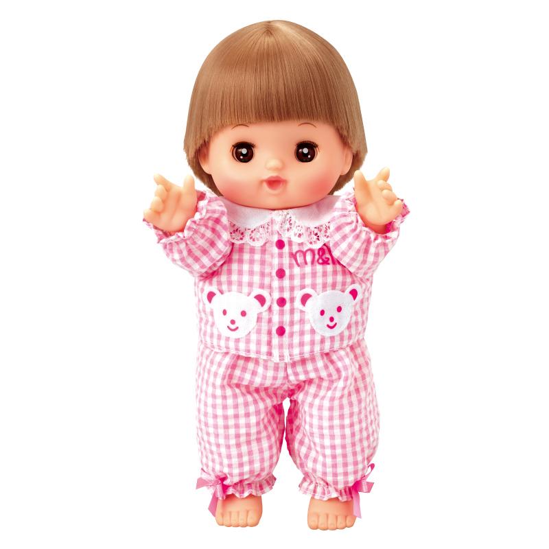 メルちゃん チェックのパジャマ