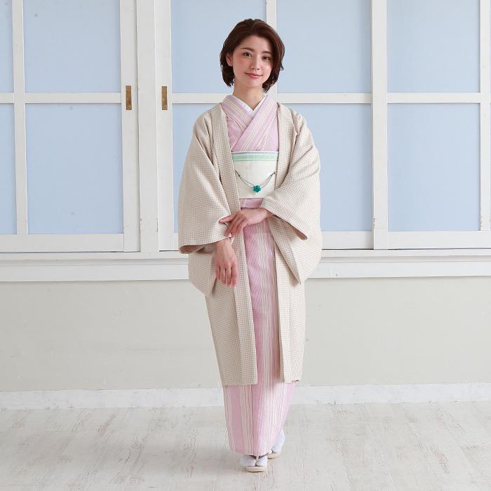 羽織紐 マグネット 翠嵐工房 梅の花飾り ちりめん細工 日本製>