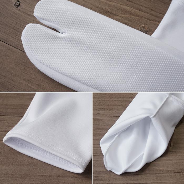 ストレッチ 口ゴム 足袋 滑り止め 単衣足袋 こはぜなし 21.0cm〜28.0cm>