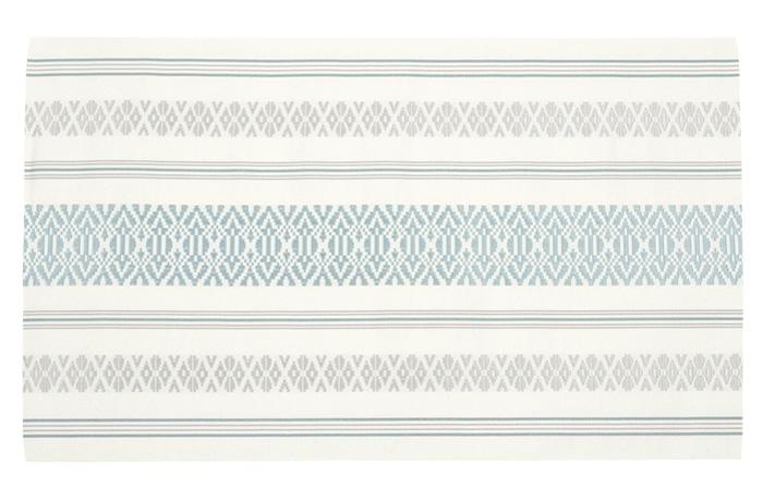 博多織 名古屋帯 仕立て上がり 正絹 乳白色 献上柄 三献上 森博多織>
