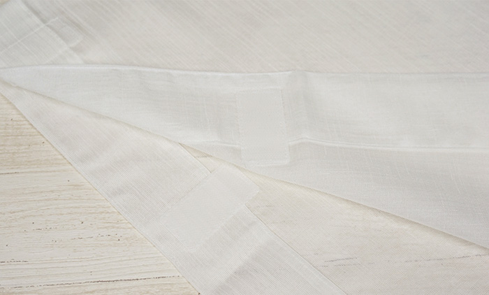 替袖 ワンタッチ 夏 縮み クレープ 白色 替え袖 別売のうそつき襦袢専用>