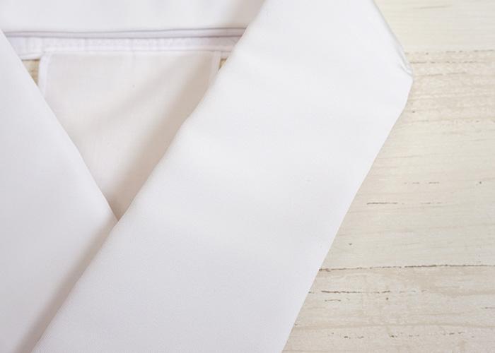 かんたん 仕立衿 日本製 白色 ポリエステル 洗える 着物 仕立衿>