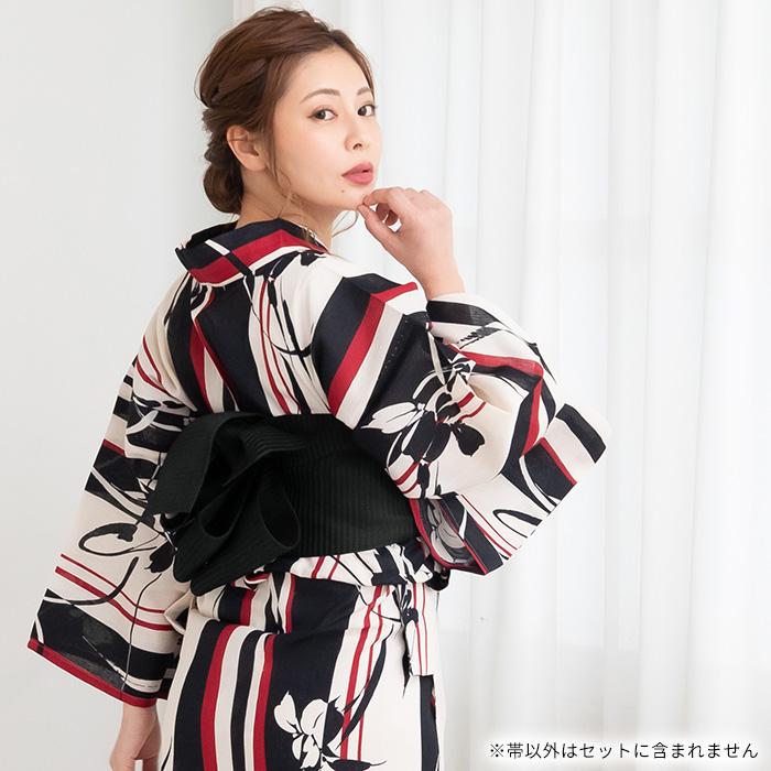 浴衣帯 半幅帯 単帯 夏のトレンド色 はちす織 並尺 選べる10色 日本製>