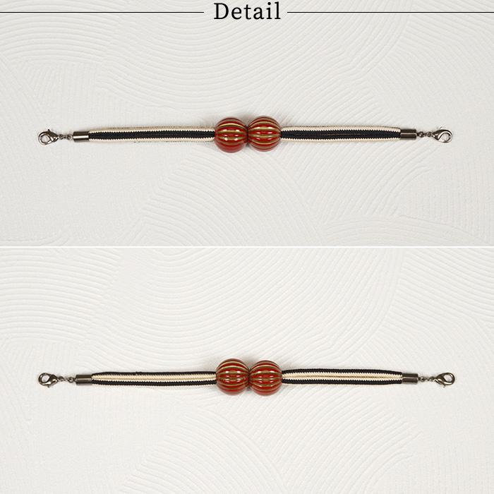 羽織紐 マグネット 羽織 紐 翠嵐工房 スイカ玉 選べる3タイプ 日本製>