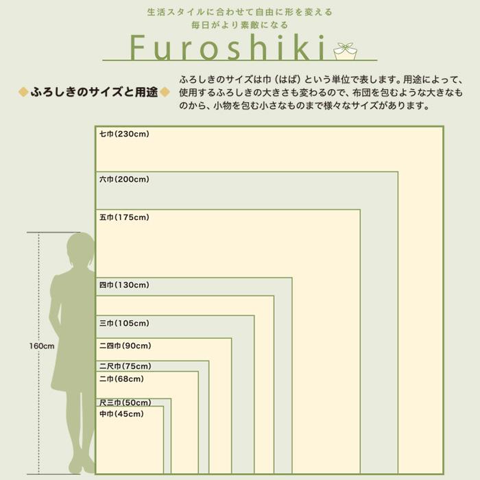 風呂敷 北欧風 中巾 50cm 有職 KONOMI ふろしき 選べる3柄 日本製>