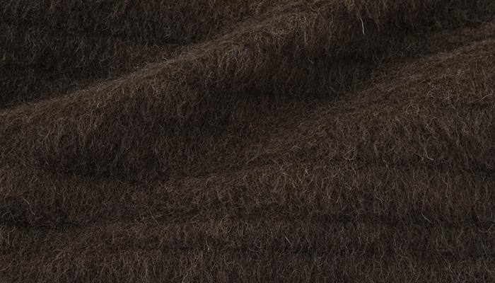 和装コート おとづき商店 クラシックコート ブラウン ウール 日本製>