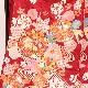 【振袖】京友禅振袖 (赤地 流水に春秋草花文)仕立上税込 送料無料 11/21〜29期間限定