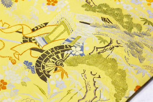 西陣織橋本清謹製 袋帯「茶屋が辻」