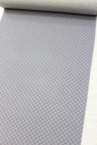 正絹の夏物駒絽小紋「市松」