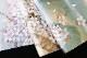 ※厳選仕立上がり商品 正絹袋帯「作家峯陵作 手描友禅ぼかしに桜」